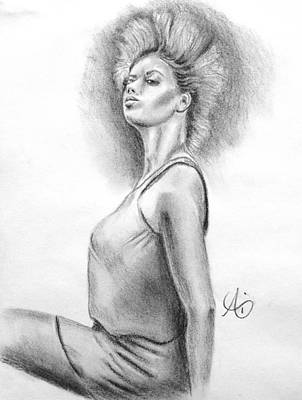 Drawing - Her Style - Fashion Illustration by Ai P Nilson