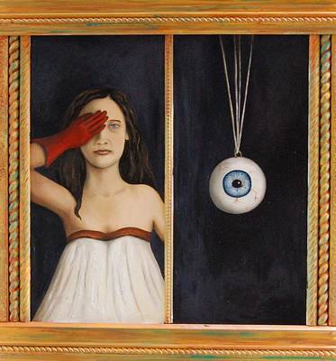Her Wandering Eye Art Print by Leah Saulnier The Painting Maniac