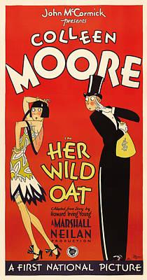 Her Wild Oat 1927 Art Print by Mountain Dreams