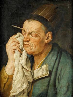 Painting - Heraclitus by Gaspare Traversi