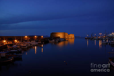 Photograph - Heraklion Harbour by Antonis Androulakis