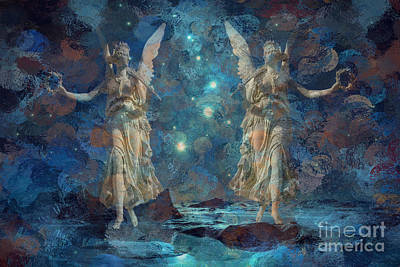 Digital Art - Herald The Night 2015 by Kathryn Strick