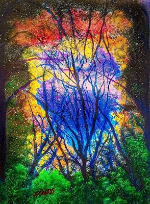 Painting - Heart Of The Forest by Anne Sands