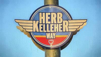Digital Art - Herb Kelleher Way by JC Findley