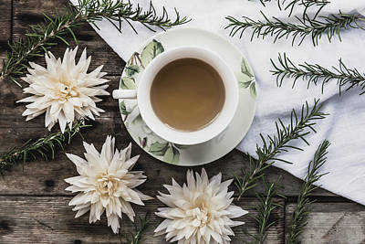 Photograph - Herbal Tea Time by Kim Hojnacki