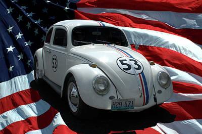 Photograph - Herbie Replica Vw by Tim McCullough