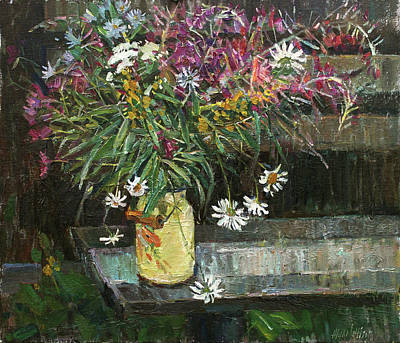 Painting - Herbs Of July by Juliya Zhukova