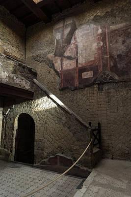 Photograph - Herculaneum House Wall Art - Murals Mosaics And Arches by Georgia Mizuleva