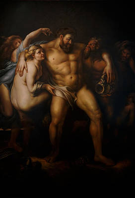 Painting - Hercules After Peter Paul Rubens by Giorgio Tuscani