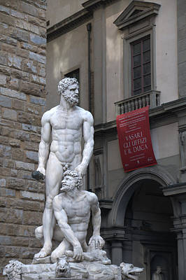 Photograph - Hercules And Cacus 1533 by Caroline Stella