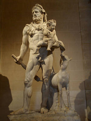 Demigod Photograph - Hercules And Child by Edan Chapman