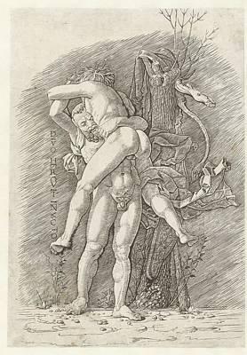 Painting - Hercules En Antaeus by R Muirhead Art