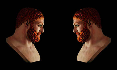 Mixed Media - Hercules - Gingers by Shawn Dall
