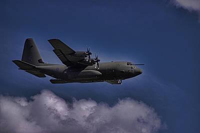 Aviation Display Photograph - Hercules by Martin Newman