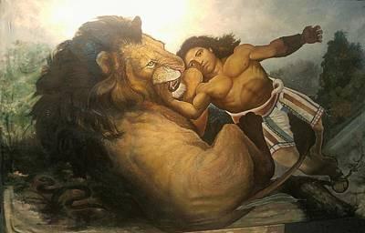 Painting - Hercules by Patrick RANKIN