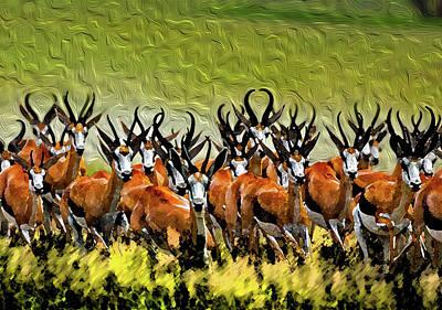 Herd 2 Art Print by Bruce Iorio