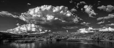 Herd Of Clouds Print by Jon Glaser
