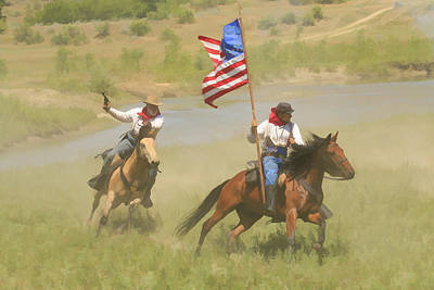 Photograph - Here Comes The Cavalry  by Steve McKinzie