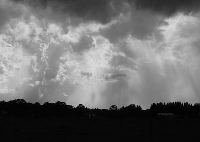 Photograph - Here Comes The Storm by Florene Welebny