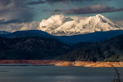 Mt Shasta Photograph - Here Comes The Sun by Marnie Patchett