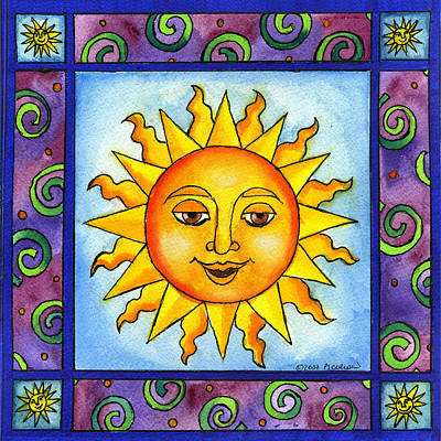 Painting - Here Comes The Sun by Pamela  Corwin