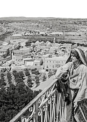 Photograph - Here Is Jerusalem by Munir Alawi