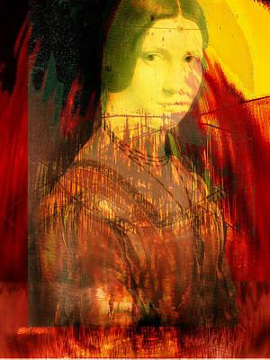Digital Art - Here Is Paint In Your Eye by Seth Weaver