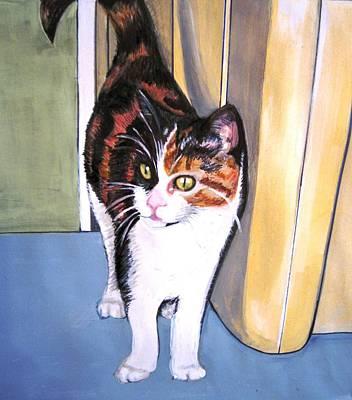 Here Kitty Kitty Art Print by Ivy Stevens-Gupta
