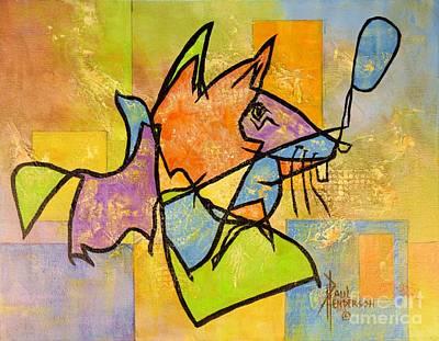 Here Kitty, Kitty Original by Paul Henderson