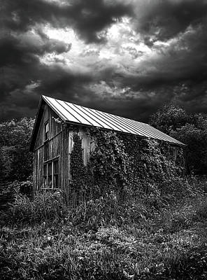 White Barn Photograph - Hereafter by Phil Koch