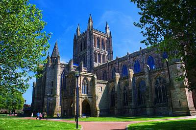 Photograph - Hereford Cathedral by Chris Day