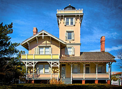 Photograph - Hereford Inlet Lighthouse by Carolyn Derstine