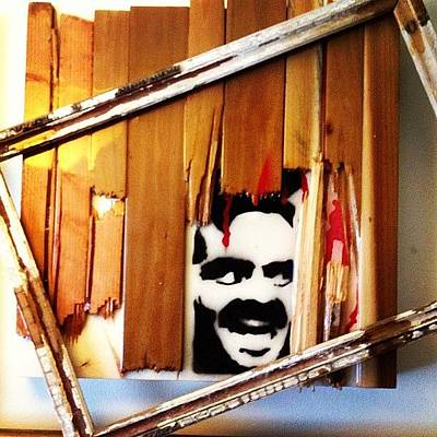 Jack Nicholson Mixed Media - Heres Jacky by Ric'Diculous' Artist