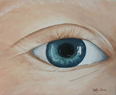 Art Print featuring the painting Heres Looking At You by Betty-Anne McDonald
