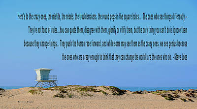 Photograph - Heres To The Crazy Ones Ventura Harbor by Barbara Snyder