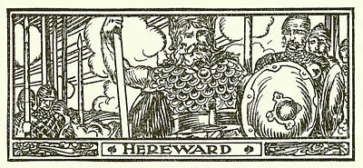 Hereward The Wake  Art Print