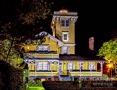 Photograph - Herford At Night by Nick Zelinsky