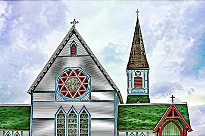 Photograph - Heritage Church In Trinity, Nfl by Tatiana Travelways
