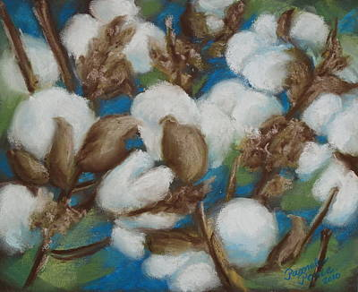 Painting - Heritage Corridor Cotton by Pamela Poole