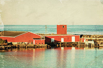 Photograph - Heritage Fisheries In Dominion, Cape Breton by Tatiana Travelways