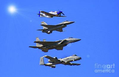 Photograph - Heritage Flight by Matthew Winn