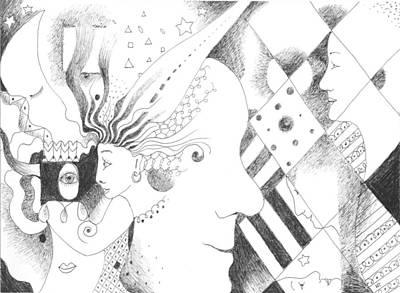 Versus Drawing - Heritage by Helena Tiainen
