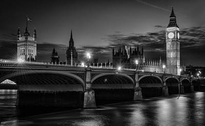 Big Ben Wall Art - Photograph - Heritage by Ido Meirovich
