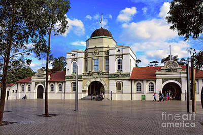 Photograph - Heritage Listed Main Entrance Taronga Zoo By Kaye Menner by Kaye Menner