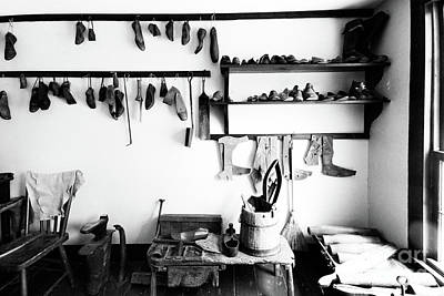 Photograph - Heritage Shoemaker Shop by Colin Cuthbert