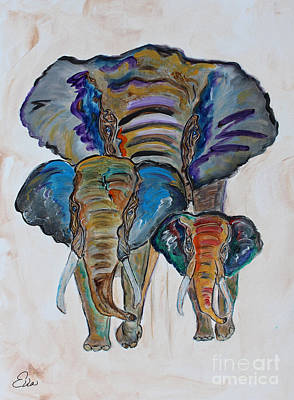Painting - Heritage Walk by Ella Kaye Dickey
