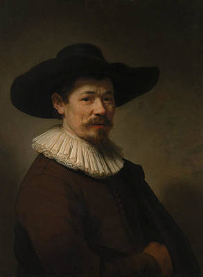 Painting - Herman Doomer by Rembrandt