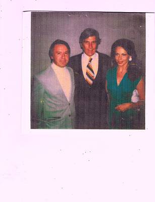 Former Senators Photograph - Herman King Sen John Warner And Me by Anne-Elizabeth Whiteway