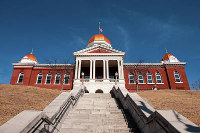 Photograph - Hermann Courthouse by Steve Stuller