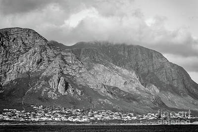 Photograph - Hermanus At Sunset Black And White by Tim Hester